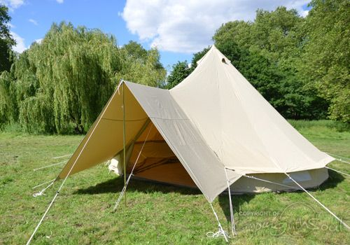Bell Tent UK Pro Awning & Connector