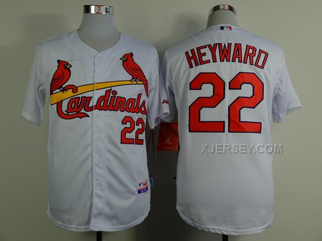 http://www.xjersey.com/cardinals-22-heyward-white-cool-base-jerseys.html CARDINALS 22 HEYWARD WHITE COOL BASE JERSEYS Only $34.00 , Free Shipping!