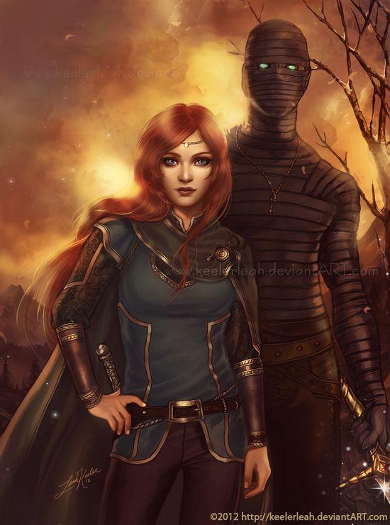 The Guardian by =keelerleah: Artth Women, Fantasy Artth