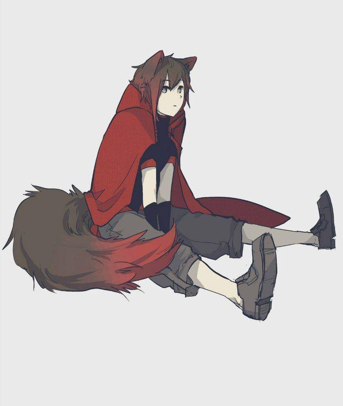 RWBY: Ruby as the Big Bad Wolf