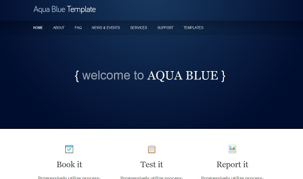 The Software Company - Google Sites Template by www.sitestemplate ...