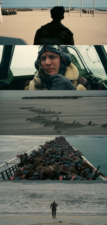 """""""Dunkirk"""", Dir: Christopher Nolan; DOP: Hoyte Van Hoytema."""
