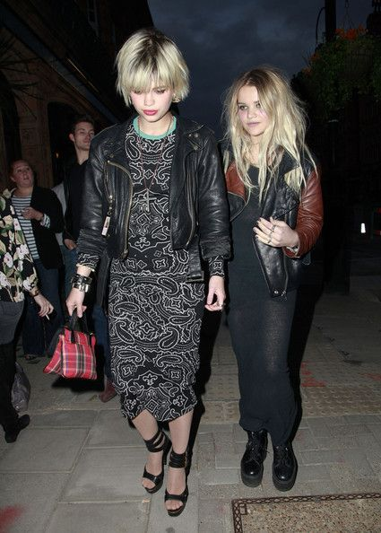 """Pixie Geldof and Daisy Dares You at the  """"Teen Vogue"""" Book Launch Party"""
