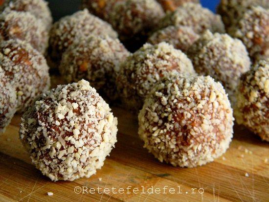 Bomboane de biscuiti si nutella ,undesert simplupreparatcu ingredientesimple si la indemana oricuiiar copiii …