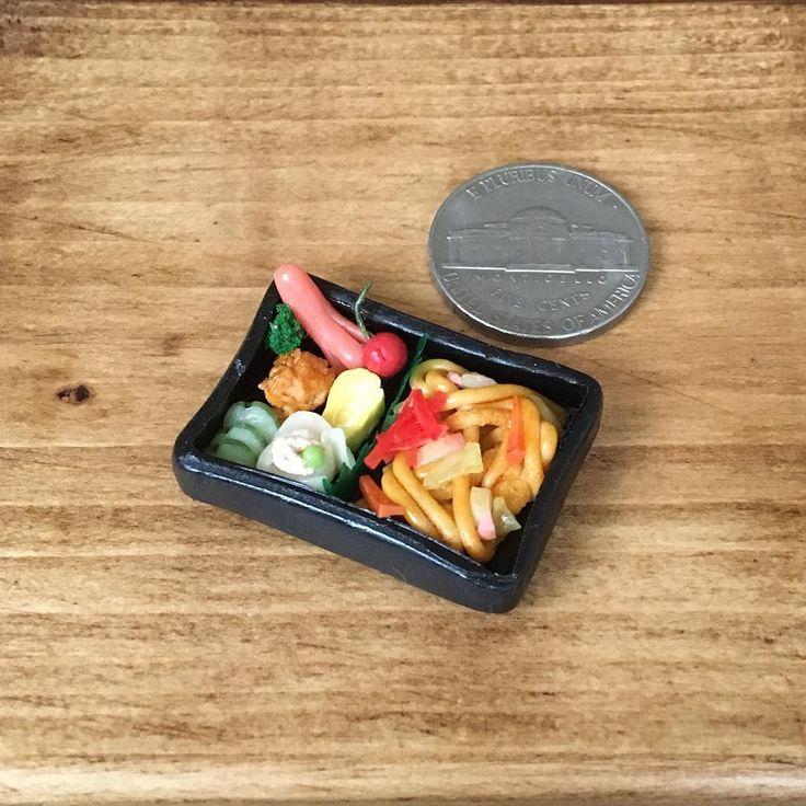 #お弁当 #焼うどん #タコさんウインナー #さくらんぼ  #唐揚げ #玉子焼き #きゅうりの漬物 #浅漬け #焼売 #シュウマイ #昼食 #お昼ごはん #ランチ  #bento #yakiudon #japanesenoodle #wiener #cherry #karaage #tamagoyaki  #japanesepickles #shiumai #lunch #japanesefood #handmade #claywork #miniaturefood #miniature #fakefood