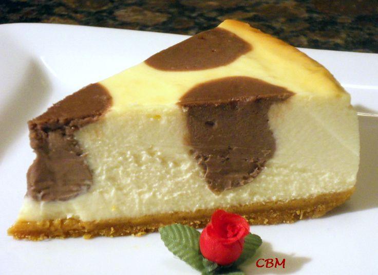 Dans la cuisine de Blanc-manger: Gâteau à pois choco-fromage