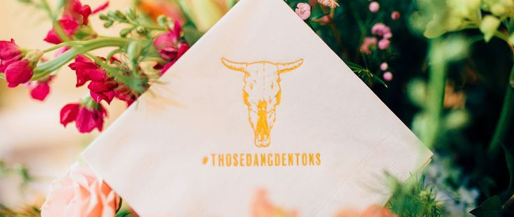 11 Unique Real Wedding Ideas Dreamt Up by Arkansas Bride:; Playful hastags