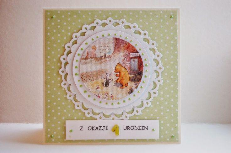 olania scrapbook: Kartki z okazji urodzin...