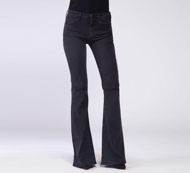 WPT538 - Cycle #cyclejeans #denimjeans #denim #jeans #black #rips