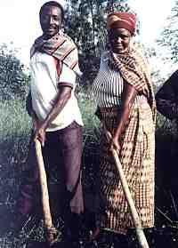 Couple in Rwanda; Photo by Joe Trower/CWS
