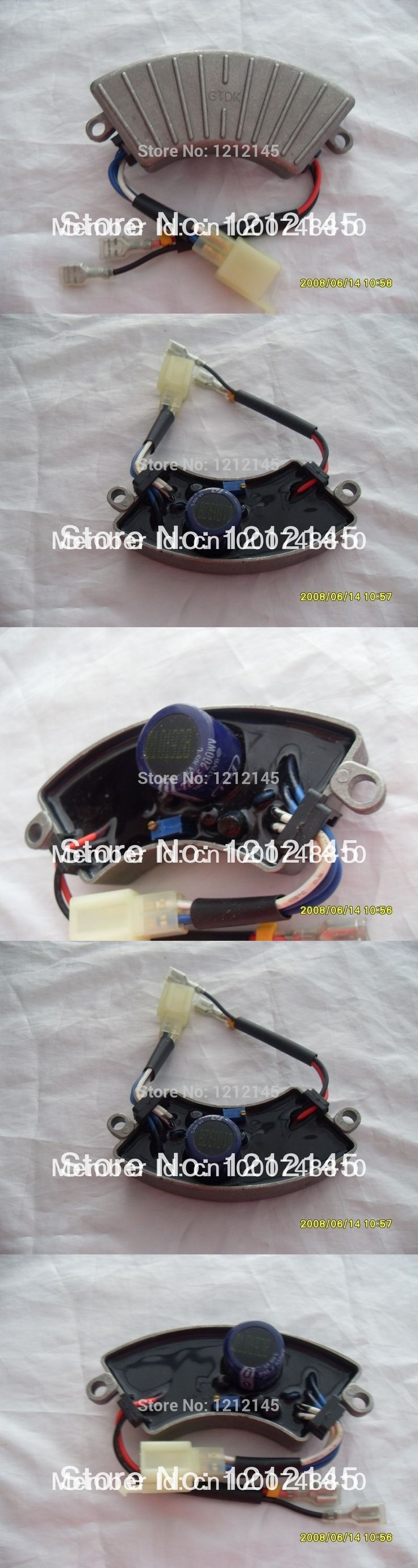 GTDK2.5-1 2KW 2.5KW AVR Aluminum Case For KIPOR KAMA ELEMAX HONDA Generator Parts Accessory