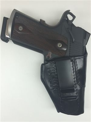 Conceal carry leather holster for the 1911 pistol.