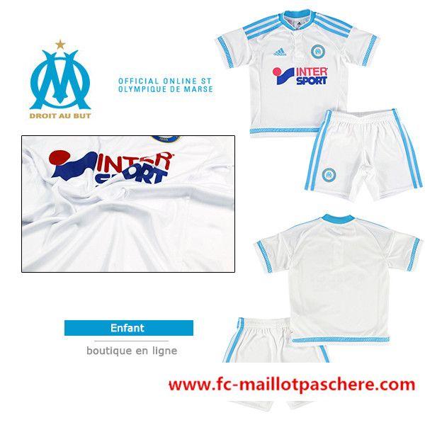 maillot Olympique de Marseille 2015 16 domicile manche longue pas chere