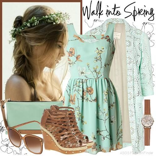 """Spring steps"" 