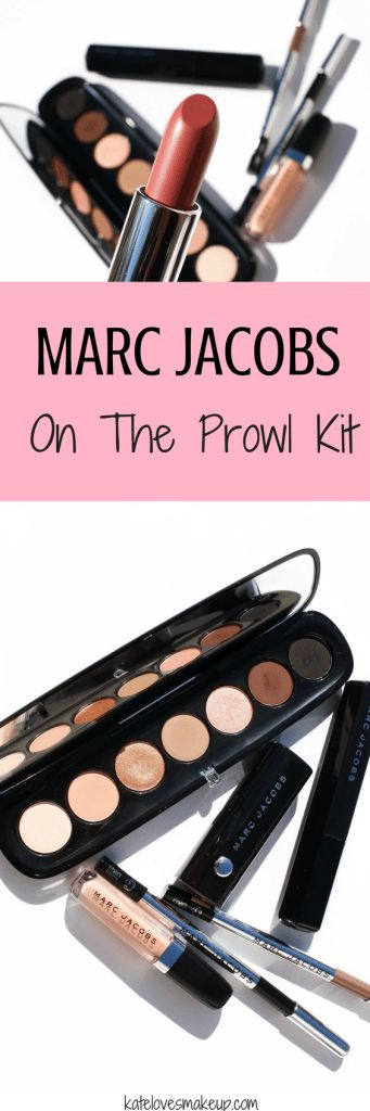 MARC JACOBS BEAUTY ON THE PROWL KIT | Kate Loves Makeup