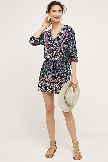 Not a huge fan of rompers, but love the pattern and embroidery on this.