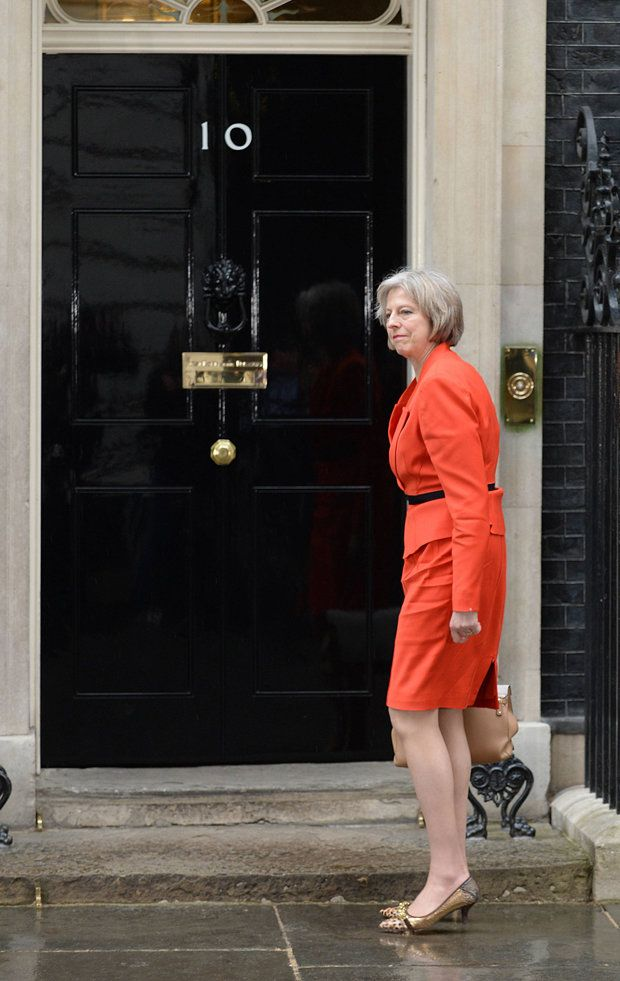 Theresa May, The new prime minister.