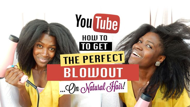 How to Blowout your Natural Hair - Natural Hair Blowout Tutorial 2016!