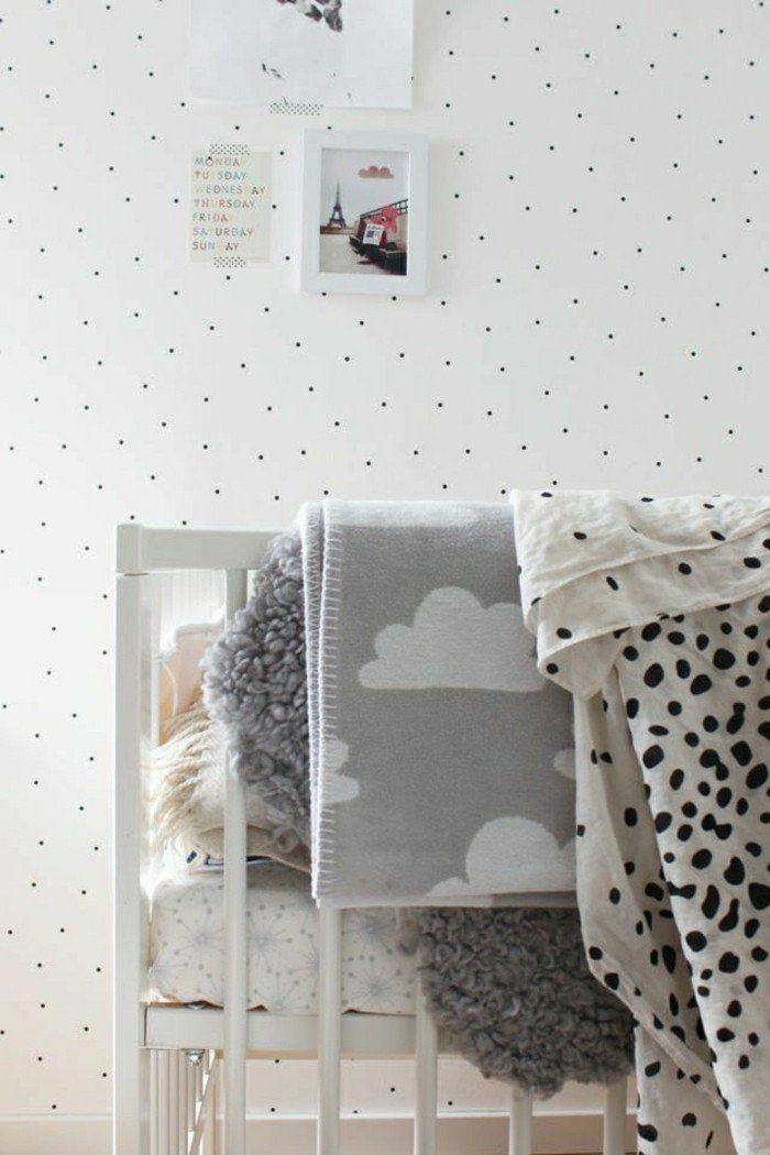 deco chambre garçon blanc et gris, comment choisir un lit pour la chambre d'enfant