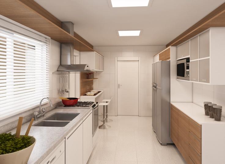 Fabuloso 346 best Cozinhas Planejadas images on Pinterest | Small kitchens  NY59