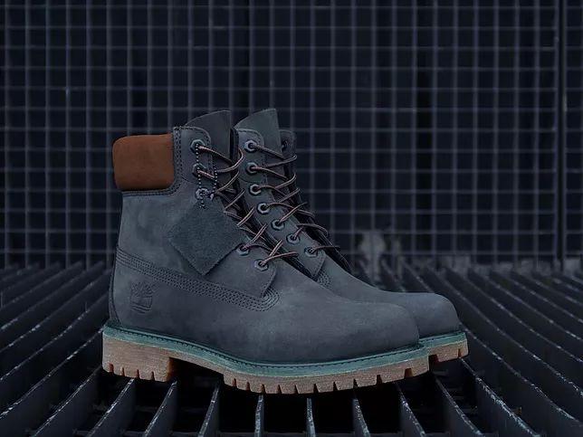 Boots Timberland 6-inch en nubuck bleu-vert - modèle A17Q4