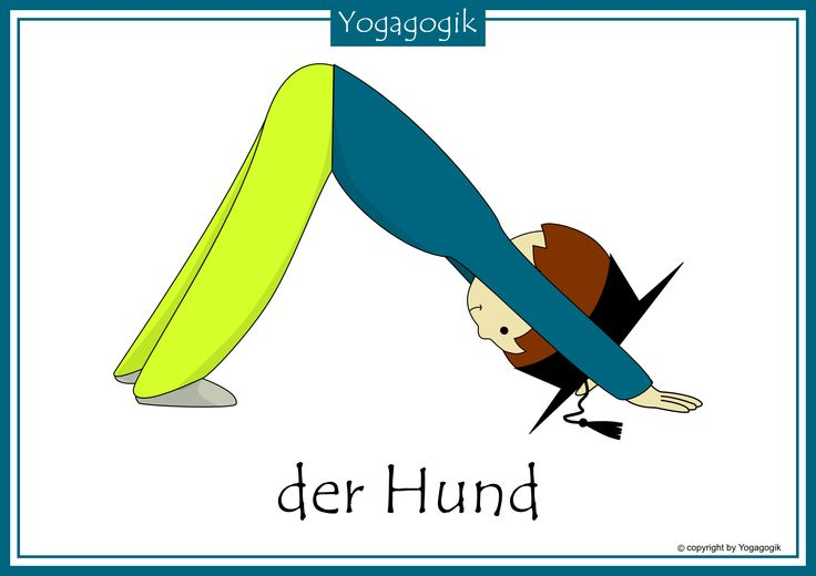 Kinderyoga Flashcards Hund