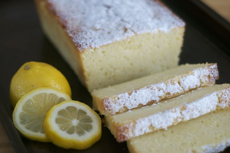 Lemon Ricotta Poundcake - a delicious lemon poundcake made unbelievably moist with the addition of ricotta cheese from 365 Days of Baking & More.