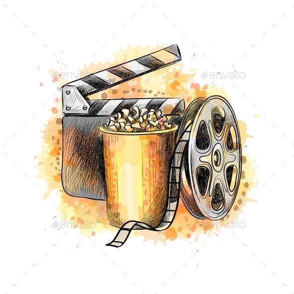 Cinematography Concept Banner Cinematography Concept Banner