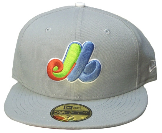 Awesome #Expos hat with a rainbow coloured logo.