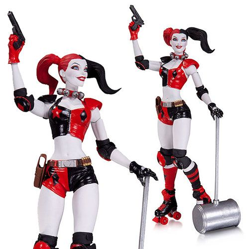 New 52 Roller Derby Harley Quinn Action Figure