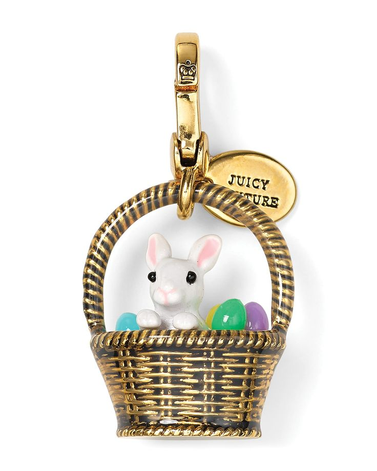 Juicy Couture Limited Edition Easter Basket Charm