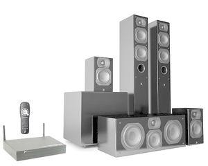 Aperion Intimus 4T Summit Wireless 5.1 Home Theater Speaker System