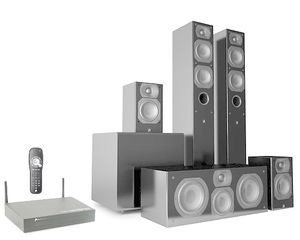Aperion Intimus 4T Summit Wireless 5.1 Home Theater Speaker System