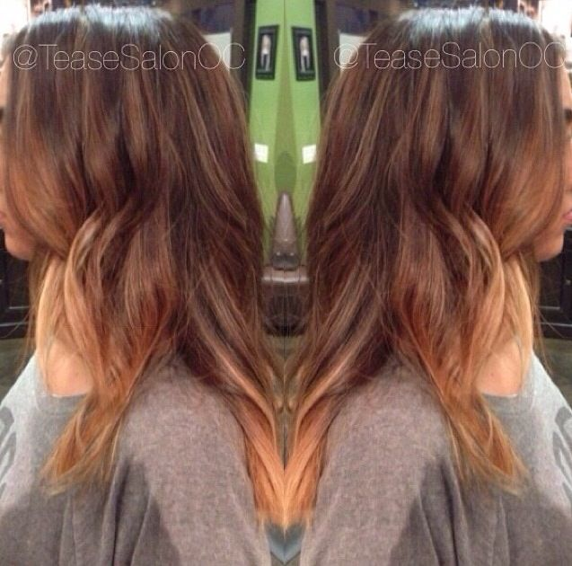 17 Best Images About Ombr Hair Color On Pinterest Mesas Blonde Hair Colors And Her Hair