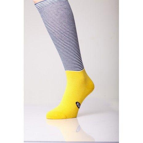 Yellow Small Stripes L