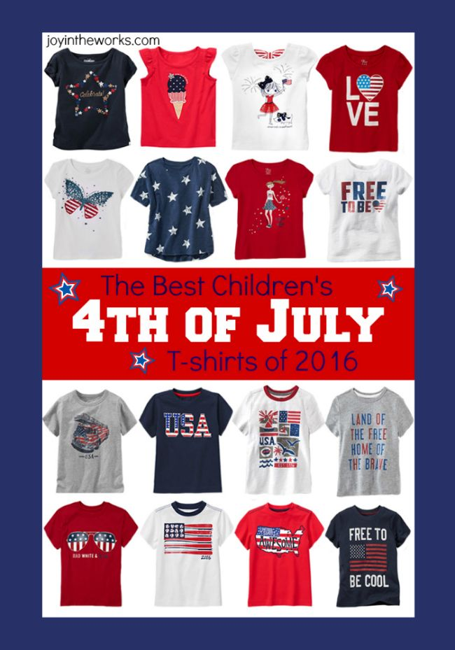 fourth of july shirts cheap