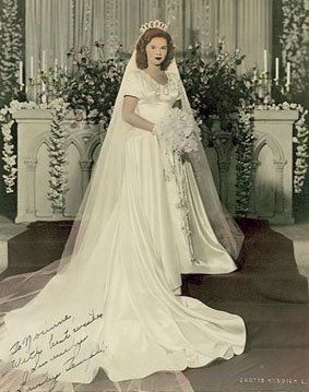 Shirley Temple Black , vintage Bride, Bridal Gown BEAUTIFUL!
