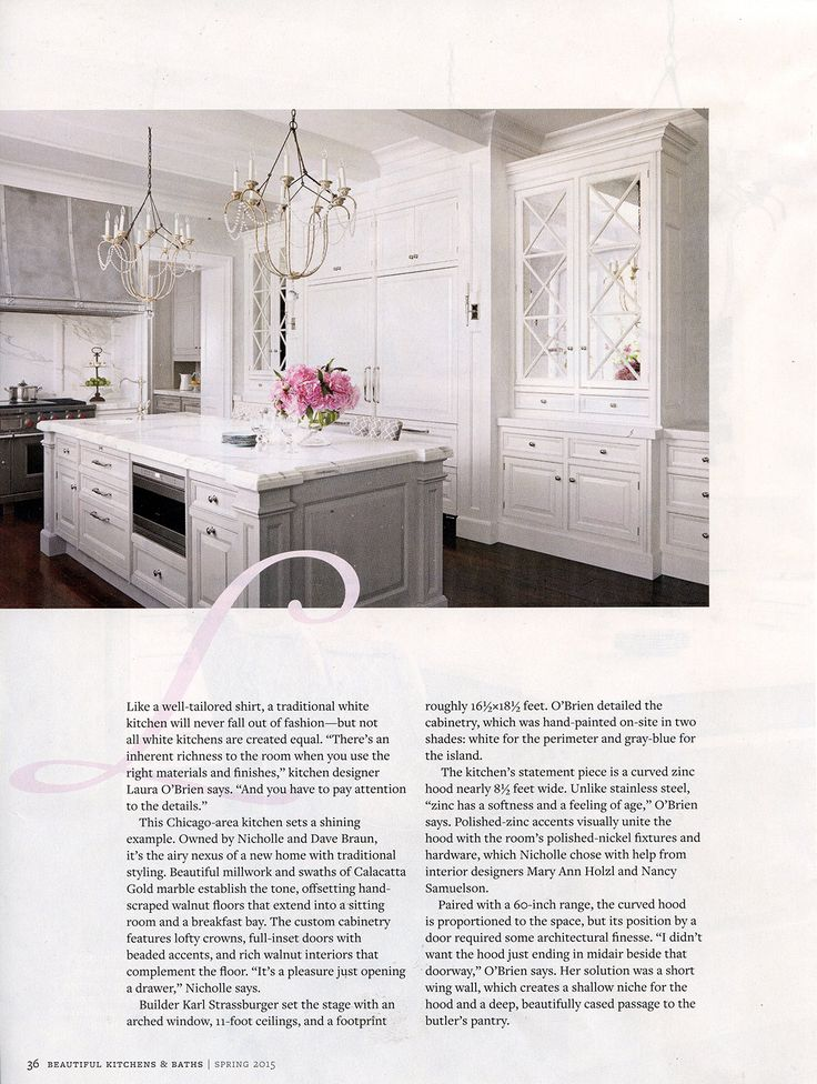 design kitchen italian%0A A pair of Italian Chandeliers in a kitchen designed by Interior Motives by  M u    N