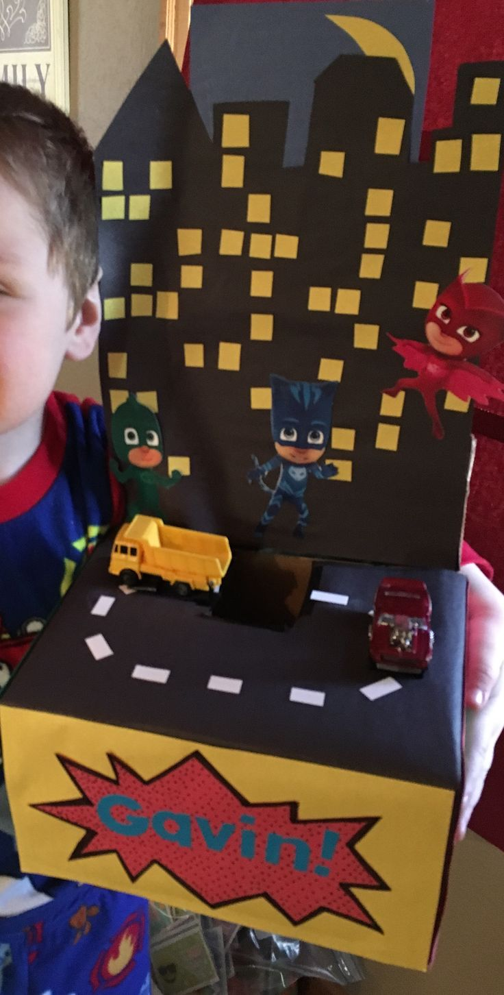 PJ Mask Valentine's Box