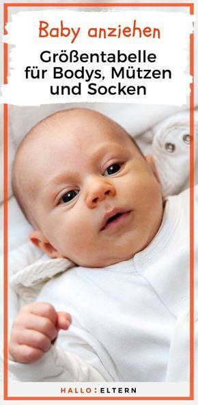 Zum Merken: So findest du die richtige Größe für Babyklamotten