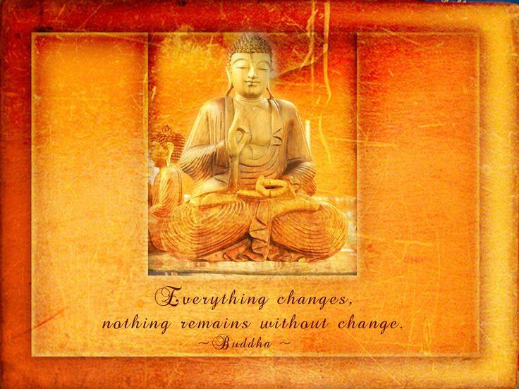 Buddhist saying.