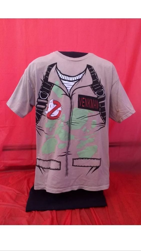 Ghostbusters Uniform Shirt Peter Venkman Glow In The Dark Size Large #Ghostbusters #GraphicTee #billymurrayshirt #billmirray #petervenkman #ghostbustershirt #ghostbustersmovies #ghostbusterscostume #ghostbusterscostumeshirt #ghostbustersmovie #ghostbuster #ghostbustermovies #coolshirt #coolshirts #80smovies #80s #classicmovies