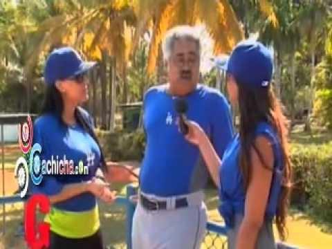 Las Geishas En El Campo De Entrenamiento De Los Dogers En R.D @Geishastv15 con @jessicapereirag @YubelkisPeralta @mariamarialopez @mabelhf #video - Cachicha.com