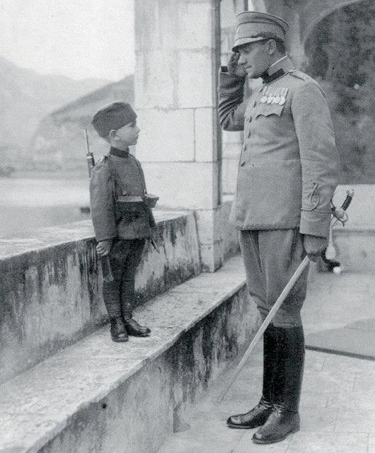 Momčilo Gavrić, joined Serbian Army at age of 8, 1914. The youngest soldier in the First World War (Wikipedia)