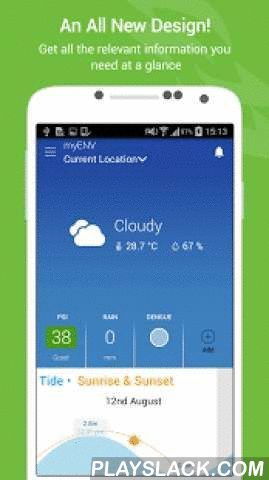MyENV  Android App - playslack.com ,  myENV app will need access to certain features on your phone for the following reasons:• Location Use your phone's location to provide you with localised weather information. • Phone Let you call NEA hotline conveniently with just one touch. • Photos/Media/Files Allow you to save photographs taken with myENV app in your phone and to attach them when you file a report to NEA. • Camera Access the phone's camera if you wish to attach a photograph while…