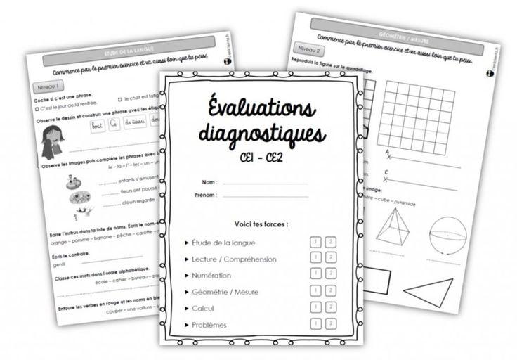 CE1/CE2 • Outils • Evaluations diagnostiques ~