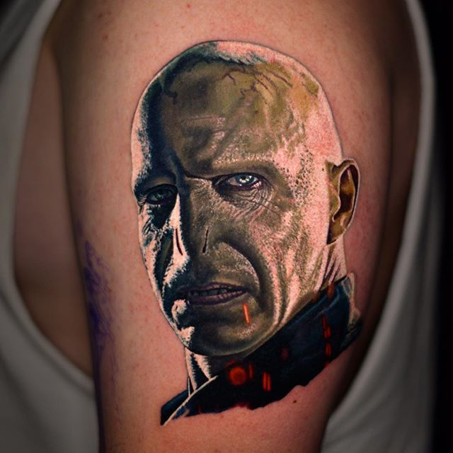 33 best comic book and cartoon tattoos images on pinterest for Black anchor collective tattoo
