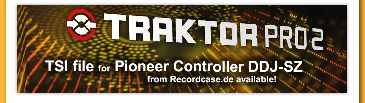 Use Traktor DJ Software with the DDJ-SZ! Click the link to go to the TSI File:  http://www.recordcase.de/cgi-bin/shop/lshop.cgi?ls=en&action=showdetail&artnum=0020107829&pid=nl352014en%3Fpid%3DGoogle-Ehlen  #pioneerdj #ddjsz