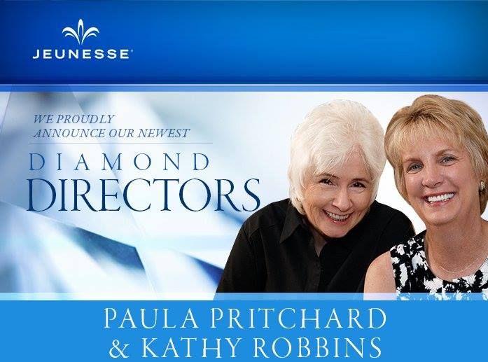 """Paula & Kathy - dvě úspěšné Diamantové ředitelky Jeunesse Global:   """" Věděli jsme, že Jeunesse je společnost, ve které bychom mohli být úspěšné, a tak další lidé přicházejí spolu s námi.""""   Paula a Kathy se staly obrovskou motivací pro všechny ženy na světě!  Přečtěte si jejich příběh zde: http://www.jeunesseglobal.com/vw.aspx?id=7753"""