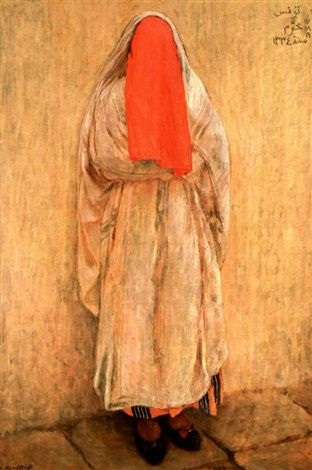 Fatima, la jeune mariée von Alexandre Roubtzoff